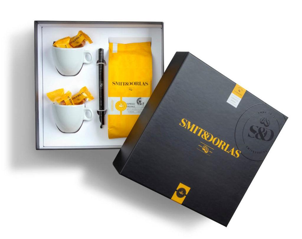 Geschenkverpakking Smit&Dorlas bedrukt door Noova Media Productions