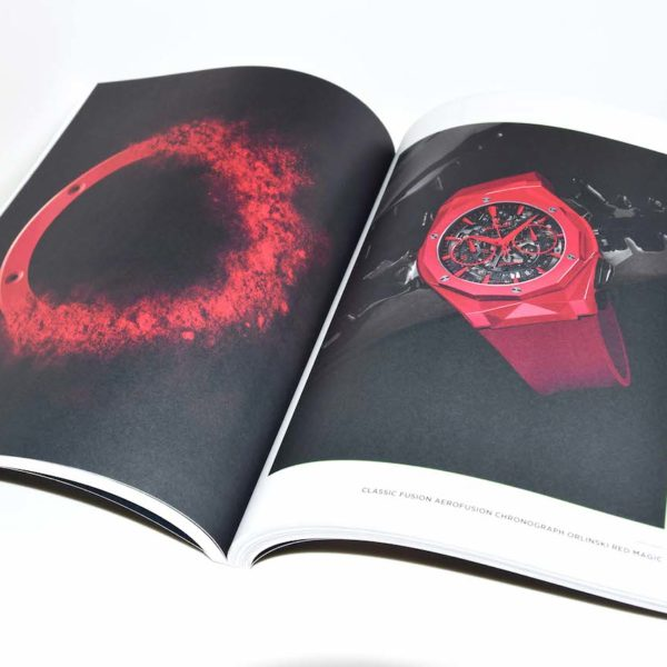 Hublot magazine bedrukt door Noova Media Productions