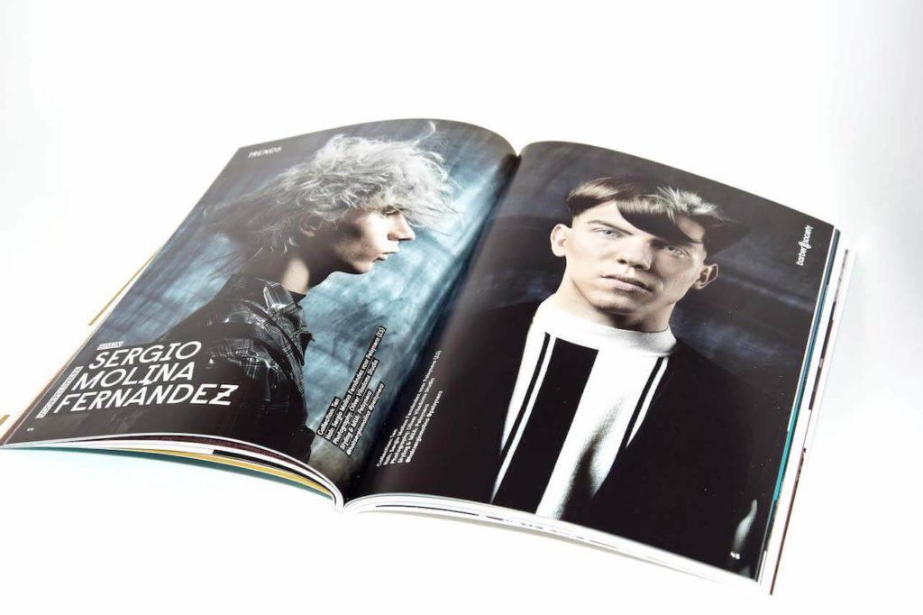 Barber society magazine bedrukt door Noova Media Productions