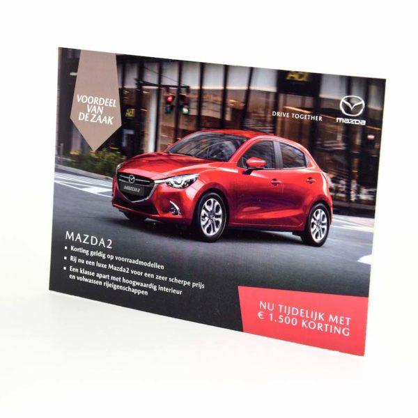 Mailing Mazda bedrukt door Noova Media Productions