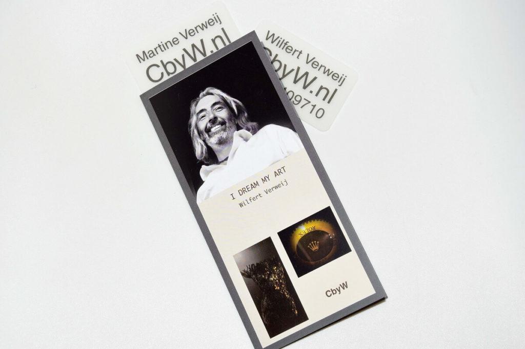 Wilfert Verweij bedrukte flyer Noova Media Productions