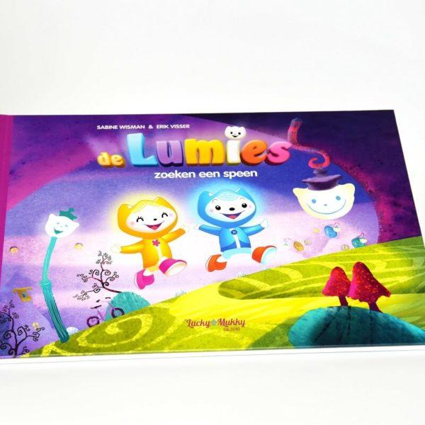 Lumies boek kaft Noova Media Productions