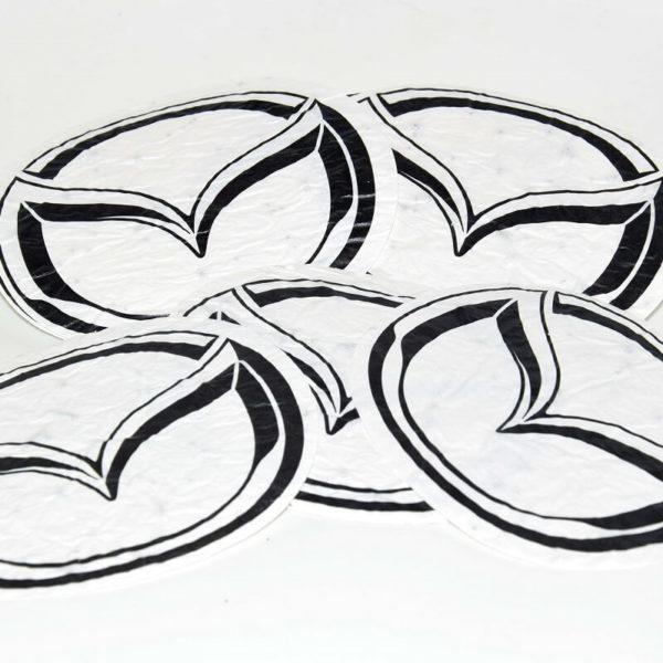 Mazda sticker Noova Media Productions